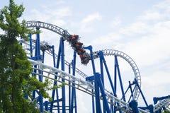 Blauer Tornado lizenzfreies stockfoto