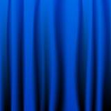Blauer Trennvorhang Lizenzfreies Stockfoto