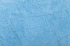 Blauer Tuchhintergrund Stockfoto