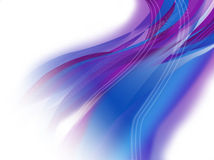 Blauer u. purpurroter abstrakter Hintergrund Stockfotografie