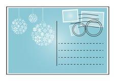 Blauer Umschlag vektor abbildung