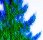 Blauer und grüner Auszug Lizenzfreie Stockbilder