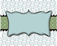 Blauer und grüner Pastellhintergrund Stockfotografie