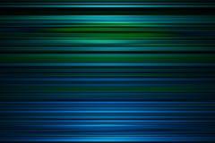 Blauer und grüner Streifenhintergrund Lizenzfreie Stockfotografie