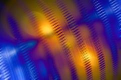 Blauer und orange Hintergrund Stockbilder