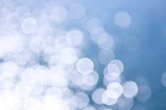 Blauer und weißer Hintergrund Stockfoto