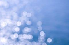 Blauer und weißer Hintergrund Lizenzfreies Stockbild