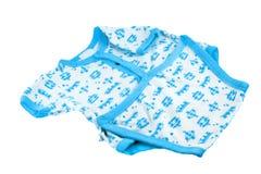 Blauer und weißer Schätzchenüberbrücker Stockbild
