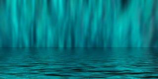 Blauer Unschärfen-Hintergrund Stockbilder