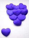 Blauer Valentinsgruß Stockbilder