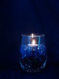 Blauer Vase Lizenzfreies Stockbild