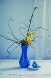 Blauer Vase Lizenzfreie Stockfotos