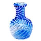 Blauer Vase lizenzfreie stockbilder