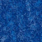Blauer Vektor gemarmorter Hintergrund Lizenzfreie Stockfotos