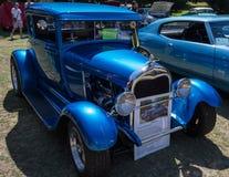 Blauer Visions-Klassiker lizenzfreie stockfotografie