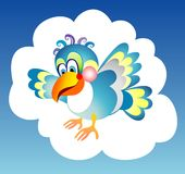 Blauer Vogel Lizenzfreie Stockbilder