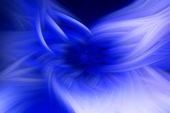 Blauer Vorsprung des Flamme Fractal-Hintergrundes futuristisch vektor abbildung