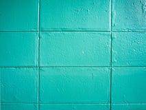 Blauer Wandbeschaffenheits-Entwurfsinnenraum stockfoto