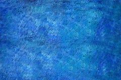 Blauer Wandhintergrund lizenzfreies stockfoto