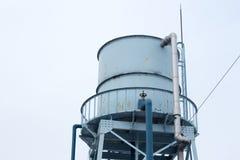 Blauer Wasserbehälter Stockbilder