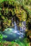 Blauer Wasserfall Lizenzfreie Stockfotografie