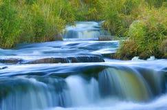 Blauer Wasserfall Stockfoto