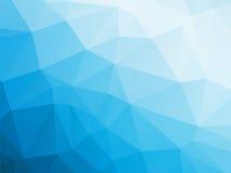 Blauer weißer Winterhintergrund stock abbildung