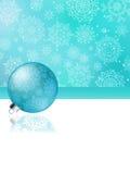 Blauer Weihnachtsauszugshintergrund. ENV 8 Lizenzfreies Stockbild