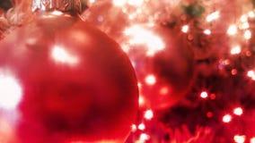 Blauer Weihnachtsbaum (HD-Schleife) stock footage