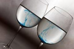 Blauer Wein lizenzfreies stockfoto