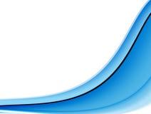 Blauer Wellenhintergrund Lizenzfreie Stockfotos