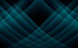 Blauer Wellenkonzepthintergrund lizenzfreie abbildung