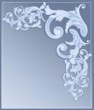 Blauer Wiederbelebunghintergrund stockbilder