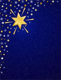 Blauer Winterhimmel B Lizenzfreie Stockbilder