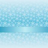 Blauer Winterhintergrund Stock Abbildung