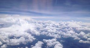 Blauer Wolkenhimmel Lizenzfreie Stockbilder