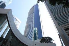 Blauer Wolkenkratzer 2943 Lizenzfreie Stockbilder