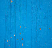 Blauer Zaun Stockbilder