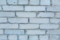 Blauer Ziegelsteinhintergrund Stockbild