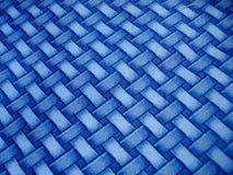 Blaues Überfahrt-Muster Lizenzfreie Stockfotografie