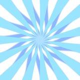 Blaues 3D Starburst Stockfoto