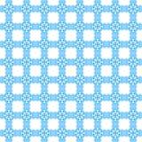 Blaues abstraktes Muster Stockfotos