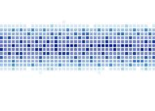 Blaues abstraktes Muster Lizenzfreies Stockfoto
