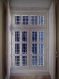 Blaues Ansichtfenster Stockfotografie