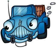 Blaues Auto Lizenzfreies Stockfoto