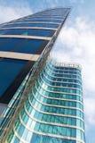 Blaues Büro lizenzfreies stockbild