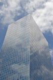 Blaues Bürohaus stockfotografie