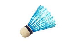Blaues Badminton shuttlecock Lizenzfreie Stockfotos