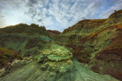 Blaues Becken in John Day Fossil Beds Lizenzfreies Stockbild