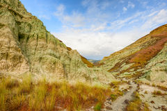Blaues Becken in John Day Fossil Beds Stockbild